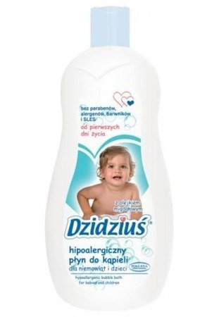 Dzidziuś foam bath with almond oil 500 ml