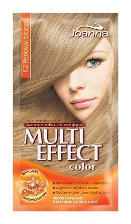 Expiry date 01.2020 Joanna MULTI COLOR Temporary / 002 / coloring Pearl blond