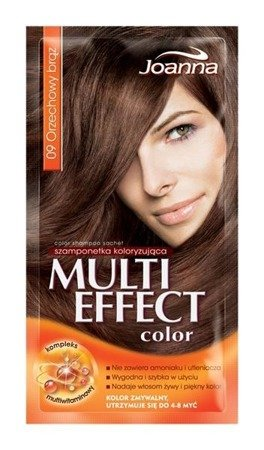 Joanna MULTI COLOR Temporary hair DYE / 009 / coloring Nut brown