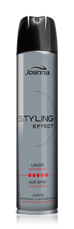 Joanna STYLING effect - extra strong hair spray 250 ml