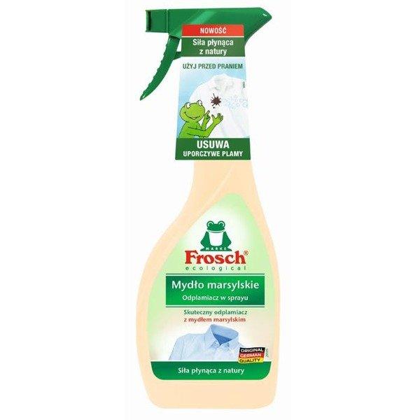 Frosch Ecological Mydło Marsylskie Odplamiacz W Sprayu 500 Ml